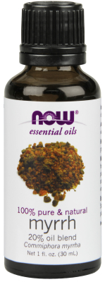 NOW: MYRRH OIL  20% PURE   1 OZ 1