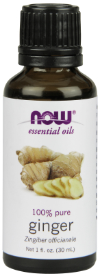 NOW: GINGER OIL  1 OZ 1