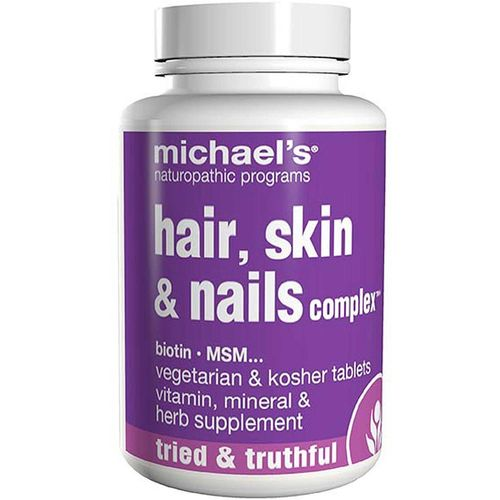 Michael's Naturopathic: Hair Skin And Nails Complex 90 tab