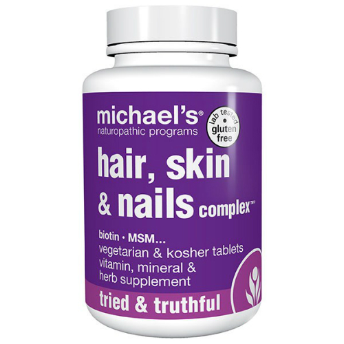 Michael's Naturopathic: Hair Skin And Nails Complex 60 tab