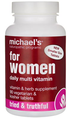 For Women Daily Multi Vitamin 90 tab from Michael's Naturopathic