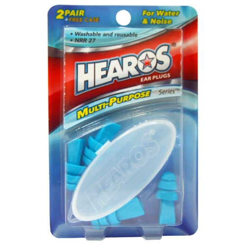 Ear Plugs Water & Noise Protection 4pc w/case 4 pc from HEAROS