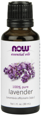NOW: LAVENDER OIL  1 OZ 1