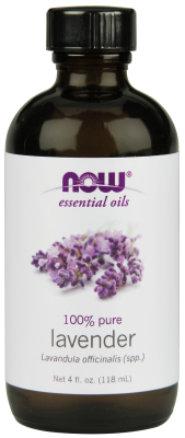 NOW: LAVENDER OIL  4 OZ 1