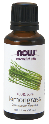 NOW: Lemongrass Oil 1 oz.