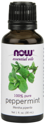 NOW: PEPPERMINT OIL  1 OZ 1