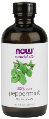 NOW: PEPPERMINT OIL  4 OZ 1