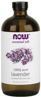 NOW: Lavender Oil 16 fl. oz.