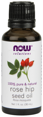 NOW: ROSE HIP SEED OIL  1 OZ 1