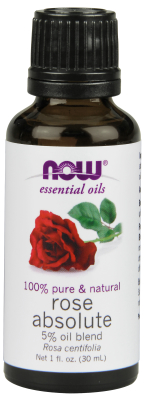 NOW: ROSE ABSOLUTE  5 BLEND  OIL   1 oz 1