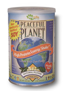 Peaceful Planet High Protein Shake-Natural Unsweet, 12.3 oz Powder
