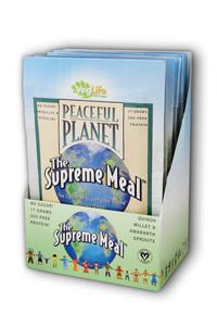 Veglife: Peaceful Planet The Supreme Meal Single Serve Packets 6ea x 35g