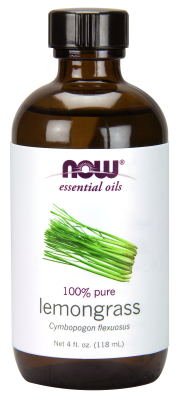 NOW: LEMONGRASS OIL 4 FL OZ