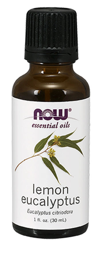 NOW: Lemon Eucalyptus Essential Oil 1 fl oz