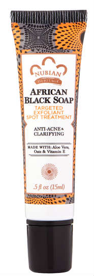 NUBIAN HERITAGE/SUNDIAL CREATIONS: African Black Soap Blemish Treatment 0.5 oz