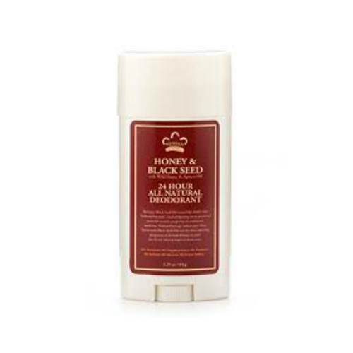NUBIAN HERITAGE/SUNDIAL CREATIONS: Deodorant Honey Black Seed 2.25 oz
