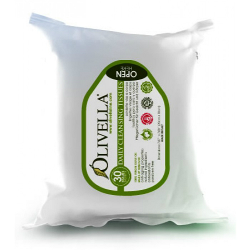 OLIVELLA: Cleaning Tissues 30 ct