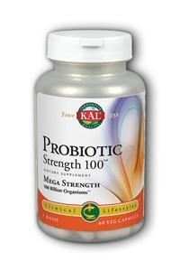 KAL: Probiotic Strength 100 Billion 60 ct Vcp