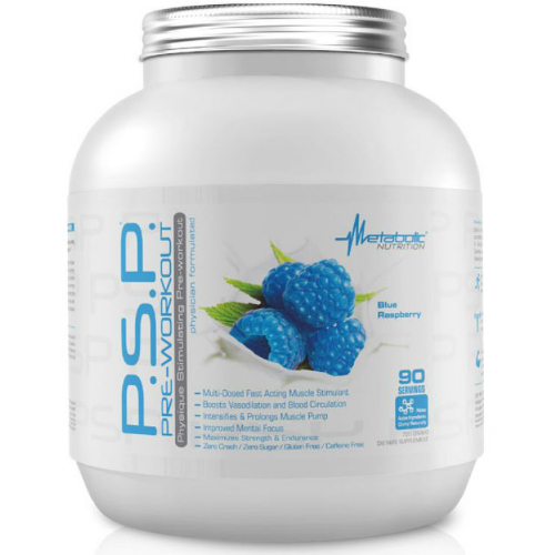 P.S.P. Pre-Workout Pump Blue Raspberry