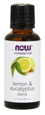 NOW: Lemon-Eucalyptus Oil 1 oz.