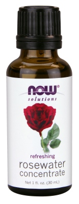 NOW: ROSEWATER CONCENTRATE  1 OZ 1