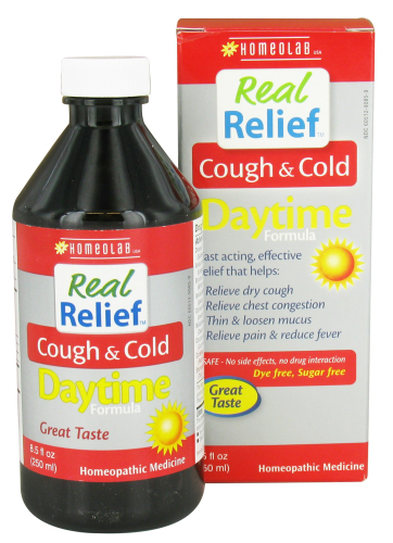 Homeolab Usa: Real Relief Cough Cold Daytime 8.5 oz
