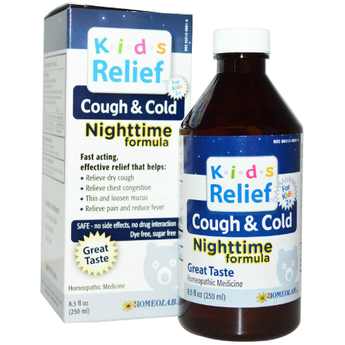Kids Relief Cough and Cold Nighttime