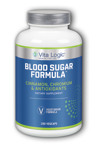 Vita Logic: Blood Sugar Formula Veg Cap (Btl-Plastic) 180ct