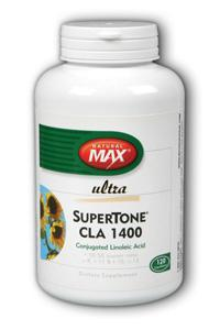 NaturalMax: SuperTone CLA 1400 M-120 120ct 1400mg  Softgel