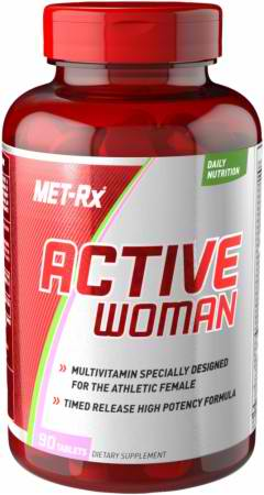 Vitamins for active women