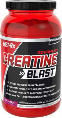 MET-RX: ADVANCED CREATINE BLAST FRUIT PUNCH 30/SRV