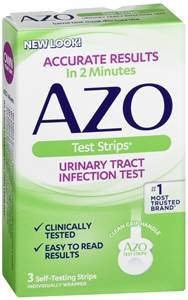 AMERIFIT: AZO Test Strips 3 strip