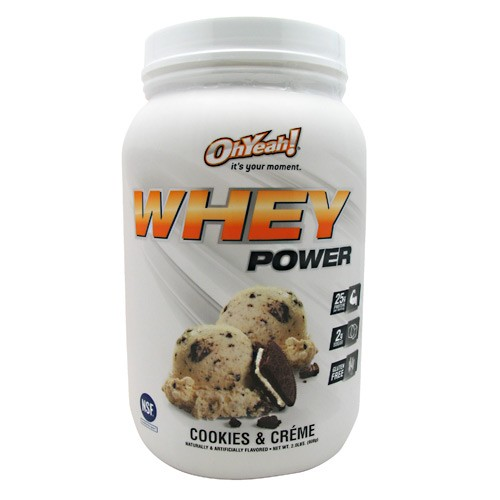 Oh Yeah! Whey Power Cookies & Cream