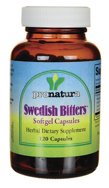 PRONATURA: Swedish Bitters 120 cap