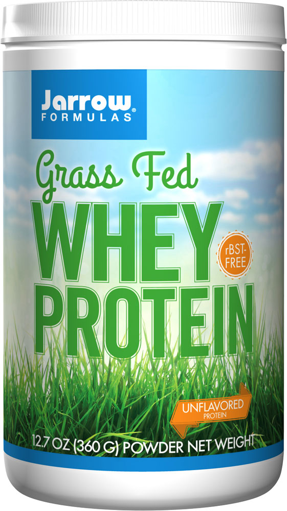 Jarrow: Whey Protein Grass Fed Unflavored 360 g