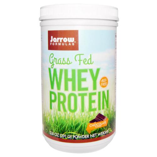 Jarrow: Whey Protein Grass Fed Chocolate 391 GM