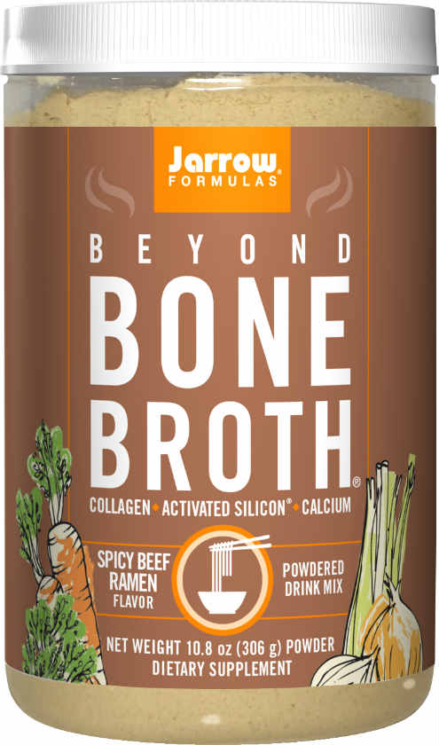 Jarrow: Beyond Bone Broth ® Spicy Beef Ramen 10.8 oz. (306 g) Powder