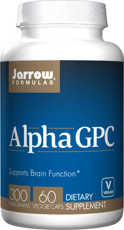 JARROW: Alpha GPC 300 MG 60 CAPS