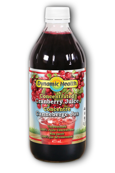 Cranberry Concentrate 16 oz from DYNAMIC HEALTH LABORATORIES INC