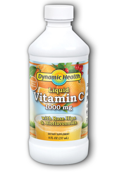 DYNAMIC HEALTH LABORATORIES INC: Vitamin C 1000 8 oz