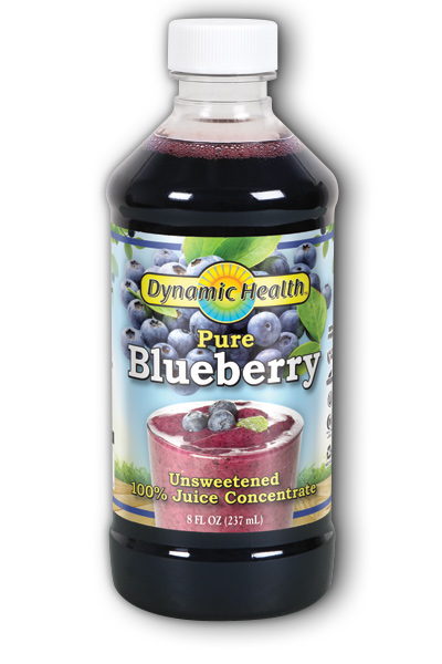 DYNAMIC HEALTH LABORATORIES INC: Blueberry Juice Concentrate 8 oz