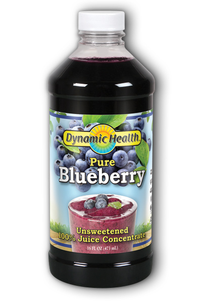 DYNAMIC HEALTH LABORATORIES INC: Blueberry Juice Concentrate 16 oz