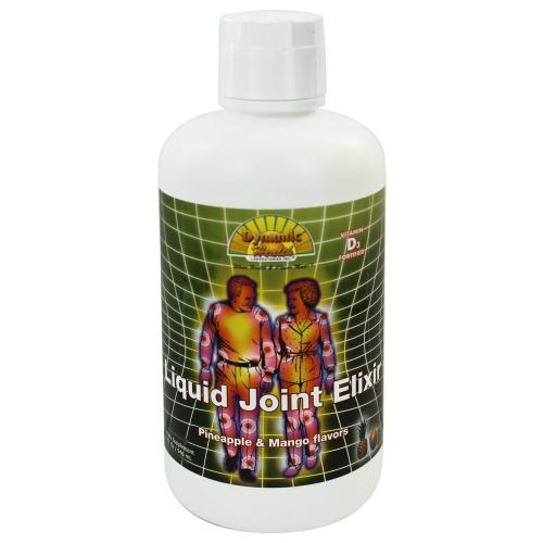Dynamic Health: Liquid Joint Elixir Glucosamine Chondroitin 32 oz