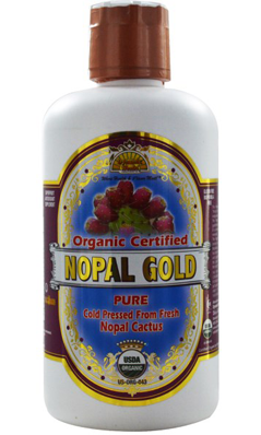 DYNAMIC HEALTH LABORATORIES INC: Organic Certified Nopal Gold-100 Percent Pure Nopal Juice 32 oz