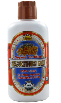 DYNAMIC HEALTH LABORATORIES INC: Organic Certified Seabuckthorn Gold-100 Percent Pure Seabuckthorn Juice 32 oz