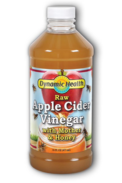 Apple Cider Vinegar with the Mother and Natural Honey 16 oz from DYNAMIC HEALTH LABORATORIES INC