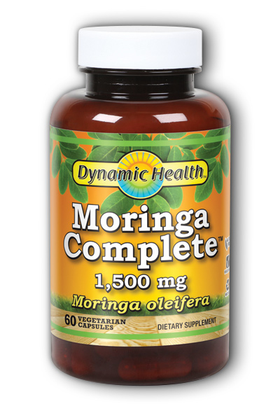 Moringa Complete 1,500 mg 60 capsule from DYNAMIC HEALTH LABORATORIES INC