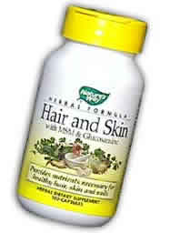 Nature's way: Hair & skin formula 100 caps