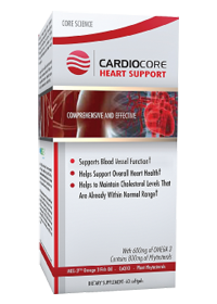 NUTRIFORCE NUTRITION: CARDIOCORE 60 SOFTGELS