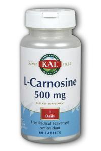 Kal: L-Carnosine 60ct 500mg